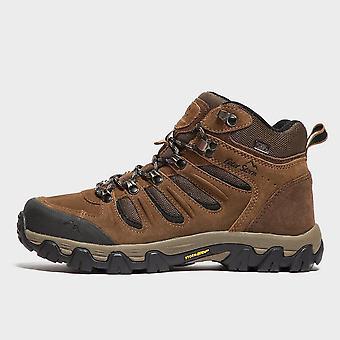 Peter Storm Men's Eskdale Mid Waterproof Walking Boot Brown