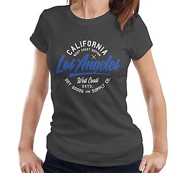 London Banter los Angeles West Coast Edition mulheres ' s T-shirt