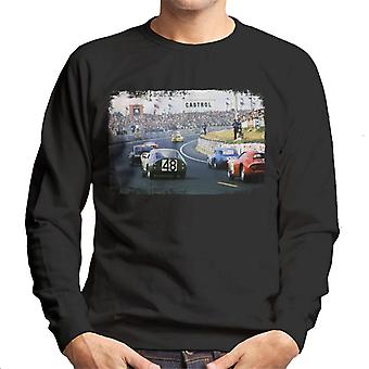 Motorsport Images Mauro Bianchi Alpine A210 Leads Men's Sweatshirt