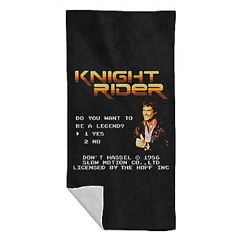Be A Legend David Hasselhoff Beach Towel