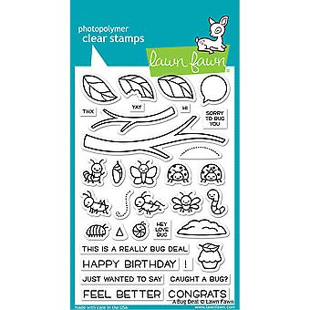 Lawn Fawn A Bug Deal Clear Stamps