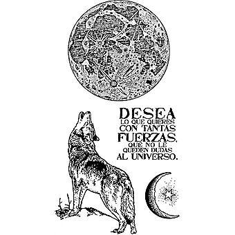 Tampon en caoutchouc naturel Cosmos Wolf (WTKCCR01)