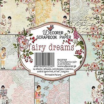 Sisustussuunnittelija Fairy Dreams 6x6 tuuman paperi pack