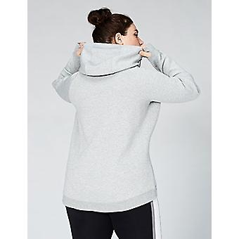 Core 10 Women's Plus Size Motion Tech Fleece Fitted Full-Zip Hoodie Jacket, L...