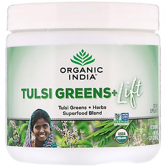 Organic India, Tulsi Greens+ Lift, Superfood Blend, 5.29 oz (150 g)
