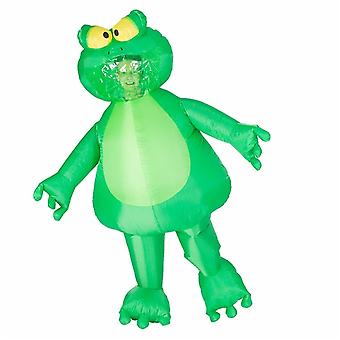 Inflatable Frog Halloween Costume Trick Or Treat One Size Fits All Adults