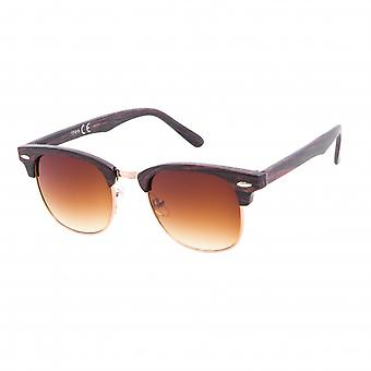 Sunglasses Unisex Wanderer Brown/Wood Pattern (20-160A)