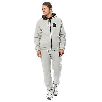 Gray Cotton Hooded Sweatsuit TSH1600-3