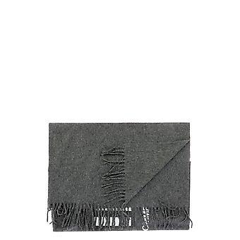 Comme Des Garçons Shirt W28202grey Men's Grey Wool Sjaal