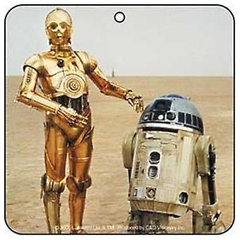 Air Fresheners - Star Wars - R2D2 & C3P0 Licensed Gifts Toys a-sw-0008