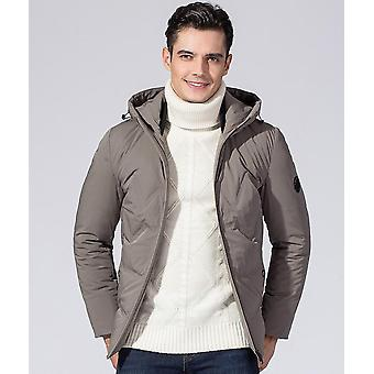 Men's Thickened Down Jacket Classic Winter Hooded Coats