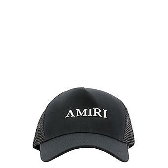 Amiri W0a39625coblk Men's Black Cotton Hat