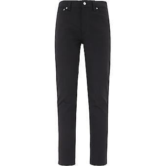 Nudie Jeans 111821blk Heren's Black Cotton Jeans