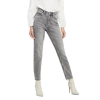 Only Women's Emily Life Highwaist Jeans Straight Fit