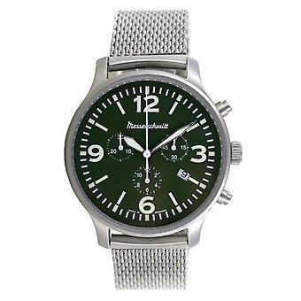 Aristo Men's Messerschmitt Watch Aviator Chronograph ME-3H204M Stainless Steel