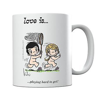 Love Is Playing Hard To Get Mug