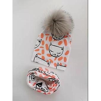 Winter Baby Cap - Kids Warm Bonnet