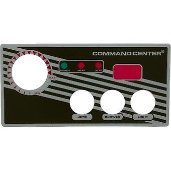 Superposition de boutons 3 du Centre de commande Tecmark 30217BM 3