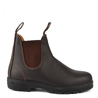 Blundstone 550 Leather Boots Walnut Brown