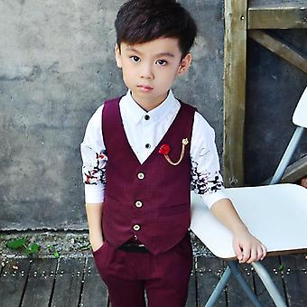 Boys Vest & Pants, Spring / Summer Style Blazer Suits