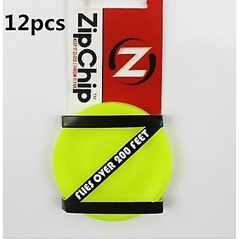 Mini Pocket Zip Chip flying Disc, weiche Outdoor neue Spin In Catching Spiel