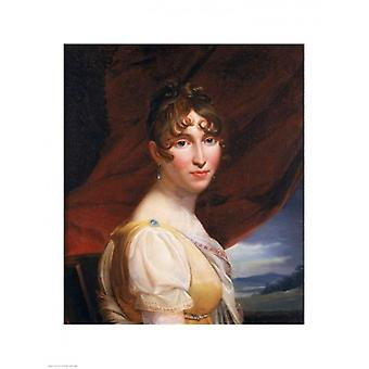 Hortense de Beauharnais Poster Print von Francois Gerard