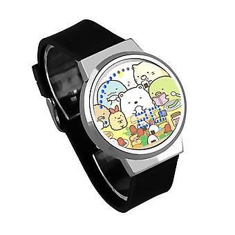Waterproof Luminous LED Digital Touch Children watch  - Sumikkogurashi #72