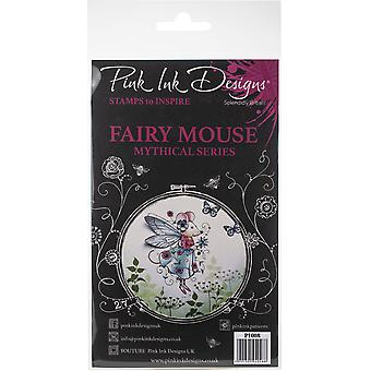 Pink Ink Designs A5 Clear Stamp Set-Fairy Mouse