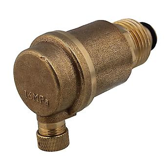 Central Heating System 1/2inch Brass Automatic Vent Valve Rust Protection