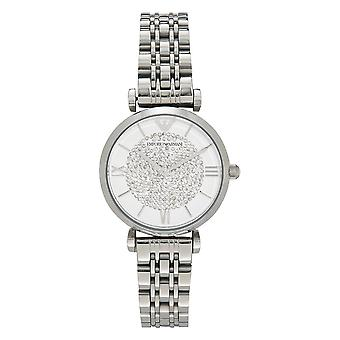 Armani Ar1925 Silver Stainless Steel Ladies Watch