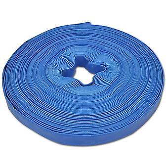 Water flat hose 50 m 1 inch PVC