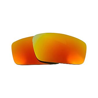 Replacement Lenses for Oakley Square Wire 2006 Sunglasses Anti-Scratch Red
