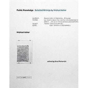 Public Knowledge: Selected Writings door Michael Asher