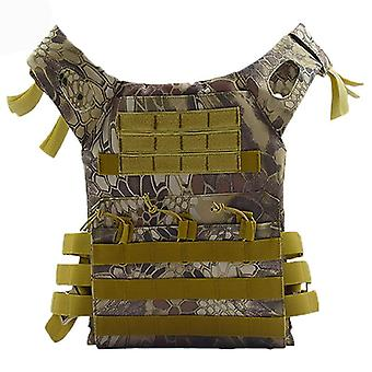 Hunting Tactical Body Armor Jpc Molle Plate Carrier Vest, Outdoor Cs Game