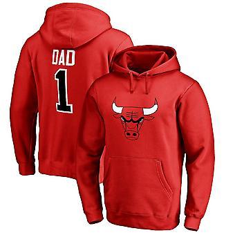 Chicago Bulls Loose Pullover Hoodie Sweatshirt WY011