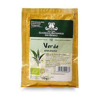 Preparation for soluble green tea 110 g of powder