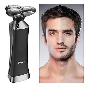 3D men's electric shaver beard trimmer razor
