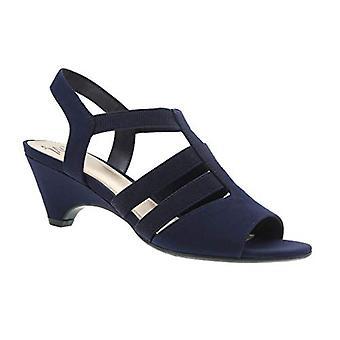 Estella Stretch Demi Heel Sandal