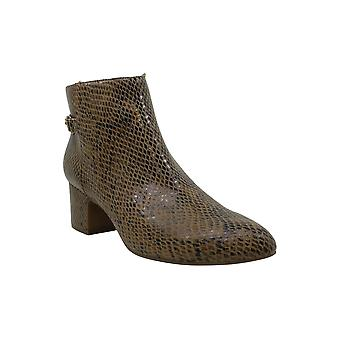 Anne Klein Women's Shoes Hilda Almond Toe Ankle Fashion Boots
