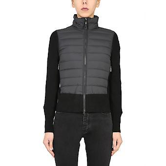 Parajumpers Pwknikn31p55541 Women's Black Wool Down Jacket