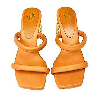 Sandales carrées Silvia Cobos Icaria Brown