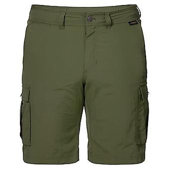 Jack Wolfskin Mens Canyon Cargo Shorts Casual Hose Khaki 1504201 5052