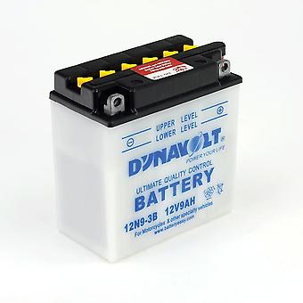 Dynavolt 12N74B Conventional Dry Charge Battery With Acid Pack