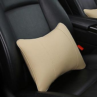 Artificial Leather Car Neck Pillows Comfortable Single Headrest