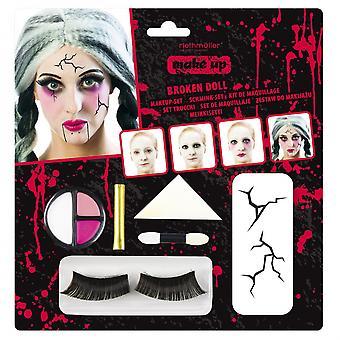 Schmink Halloween Dames 7-Delig