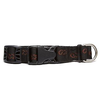 New Mountain Paws Dickie Bow Dog Collar - Large Black