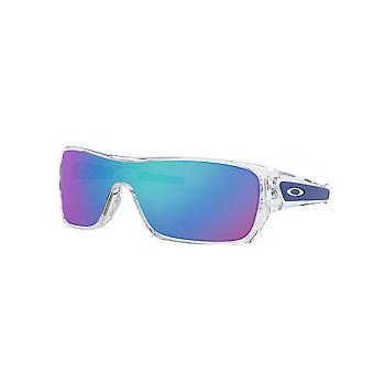 Oakley Turbine Rotor OO9307 10 Polished Clear/Sapphire Iridium Sunglasses