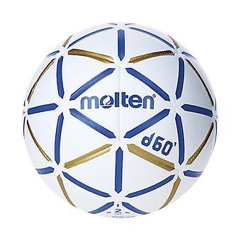 Ball for håndball smeltet H2D4000-BW lær (størrelse 2)