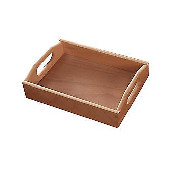 Beech Wooden Handle Tray