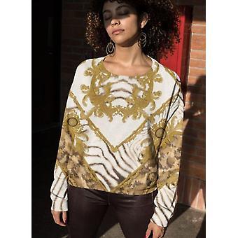 Famous pattern sublimation sweatshirt